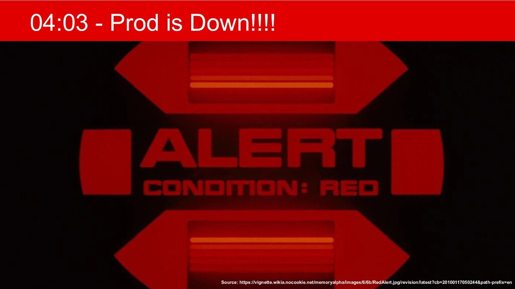 @mlfowler_ @Claranet 04:03 - Prod is Down!!!! S...