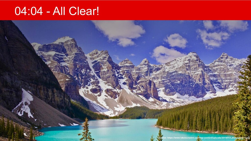 @mlfowler_ @Claranet 04:04 - All Clear! Source:...