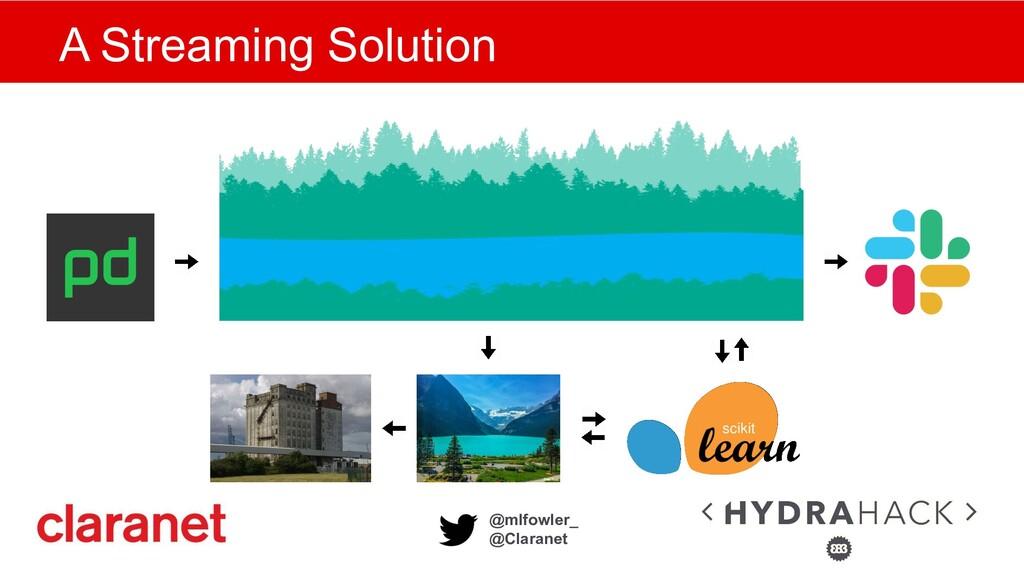 @mlfowler_ @Claranet A Streaming Solution