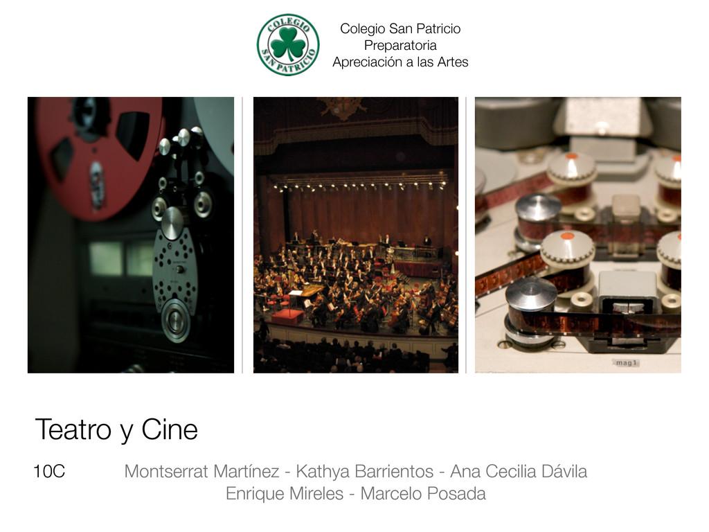 Teatro y Cine Montserrat Martínez - Kathya Barr...
