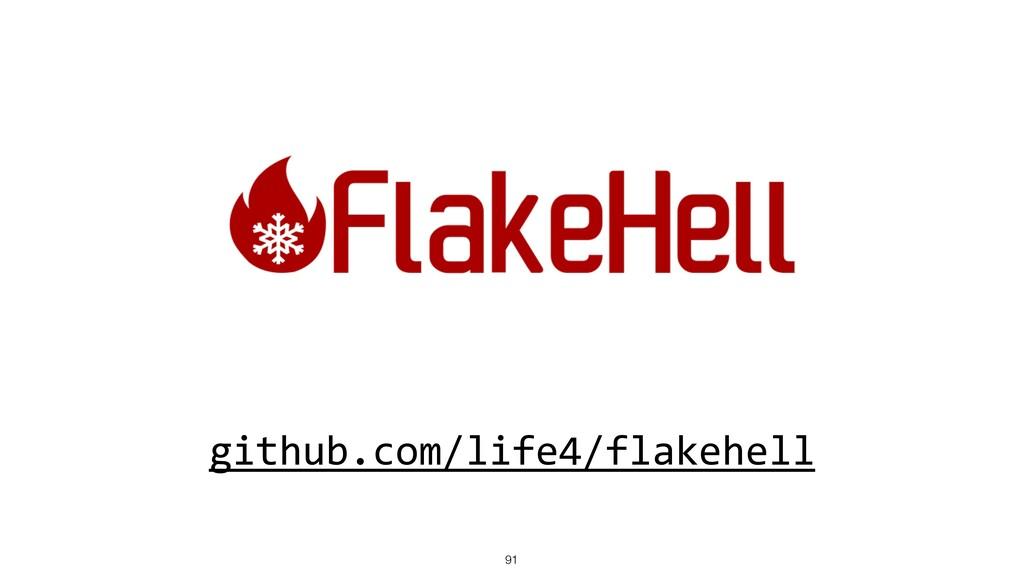 github.com/life4/flakehell 91
