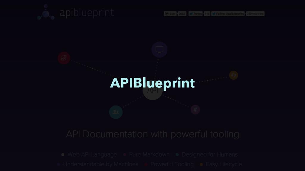 APIBlueprint