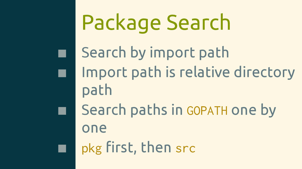 Package Search Search by import path Import pat...