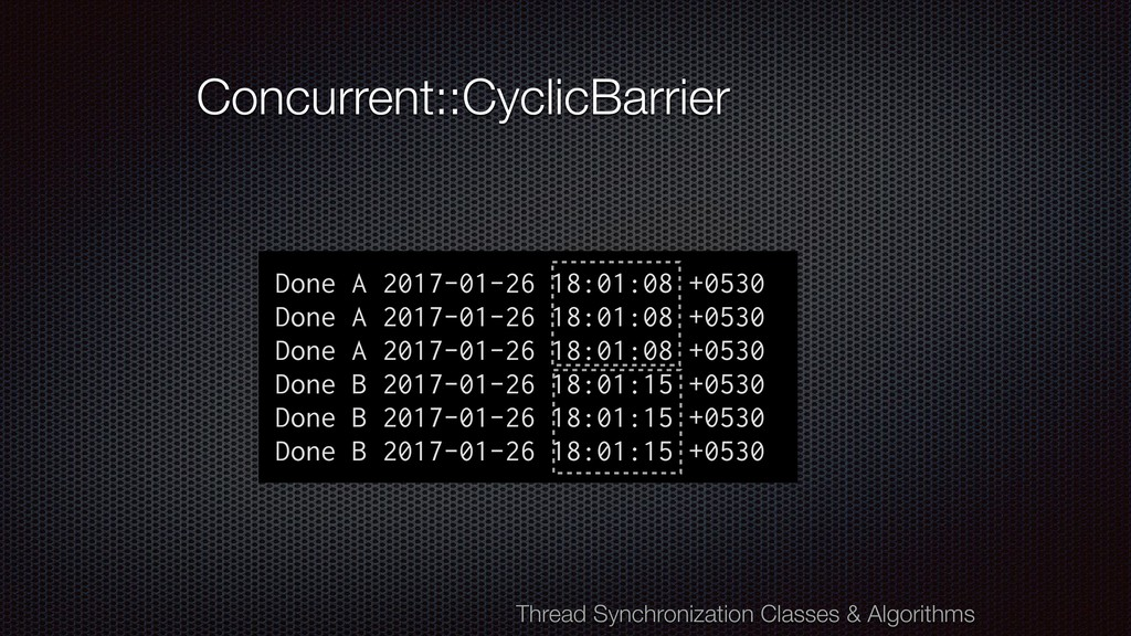 Concurrent::CyclicBarrier Done A 2017-01-26 18:...