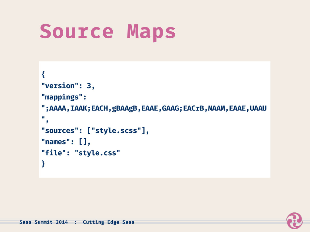 "Source Maps { ""version"": 3, ""mappings"": "";AAAA,..."
