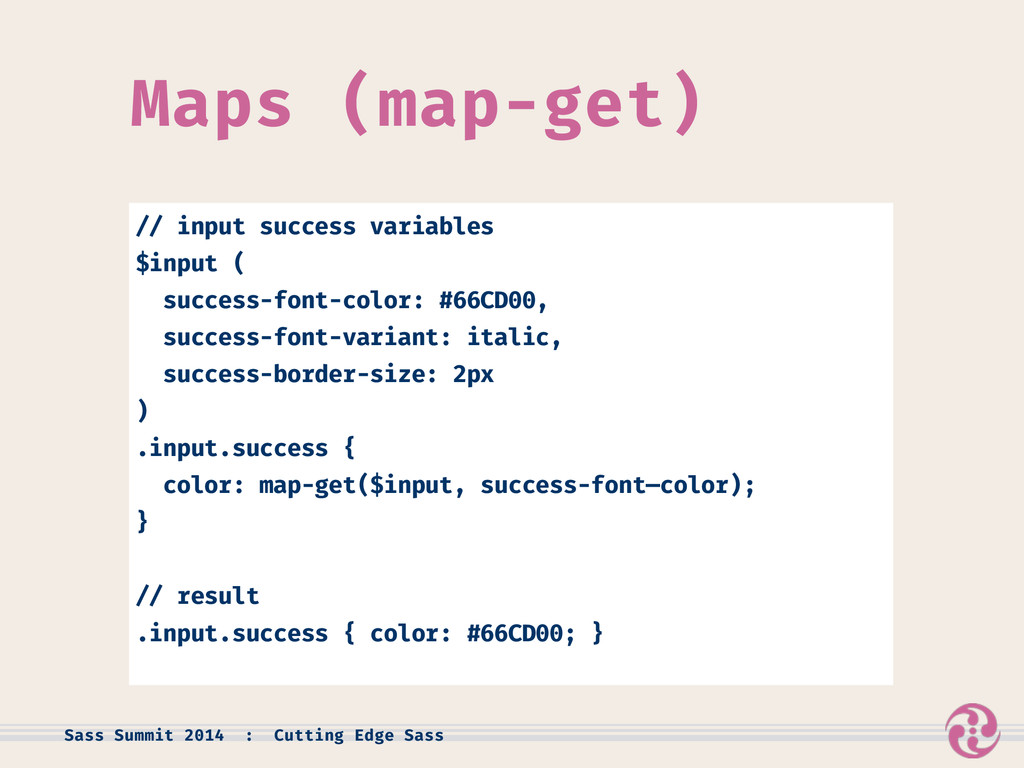 Maps (map-get) // input success variables $inpu...