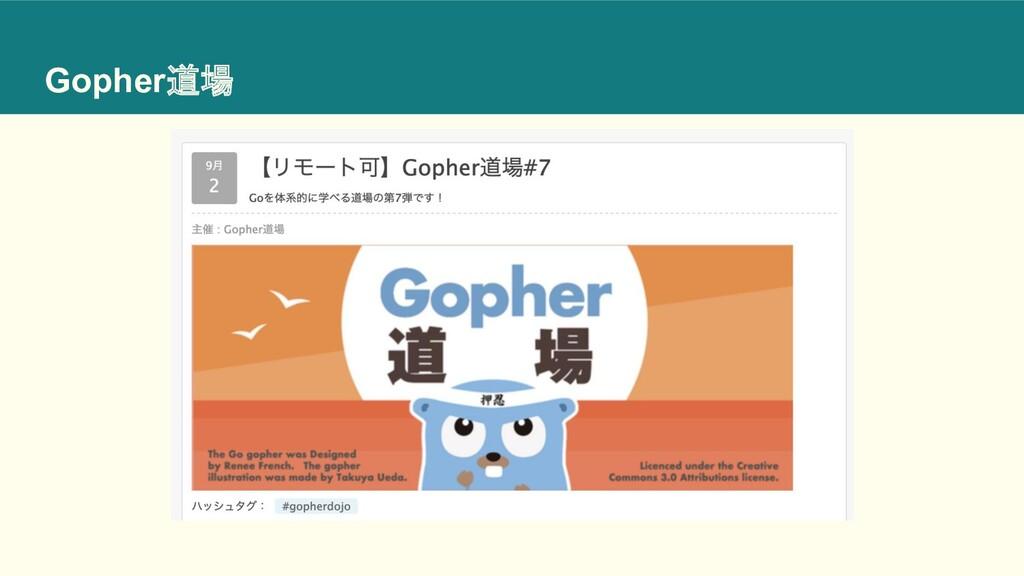 Gopher道場