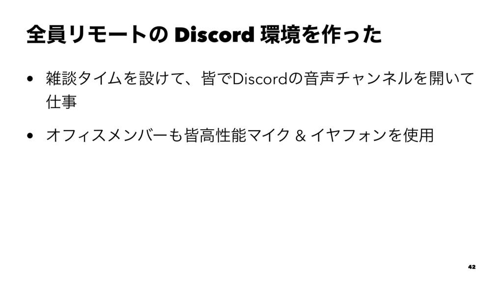 શһϦϞʔτͷ Discord ڥΛ࡞ͬͨ • ஊλΠϜΛઃ͚ͯɺօͰDiscordͷԻ...