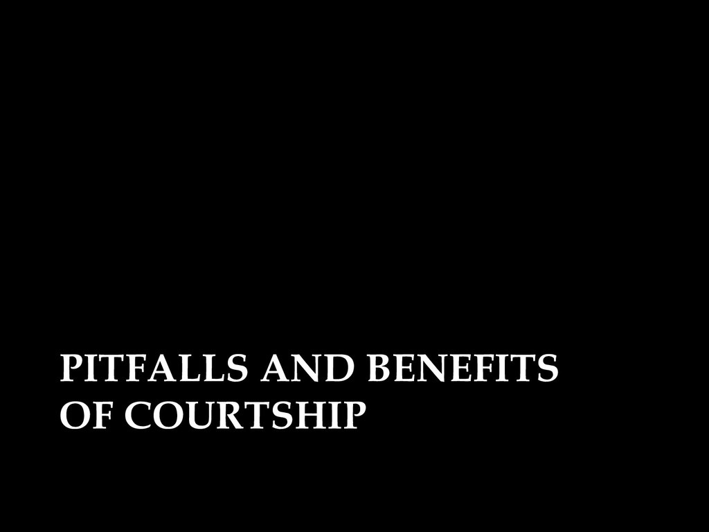 PITFALLS AND BENEFITS