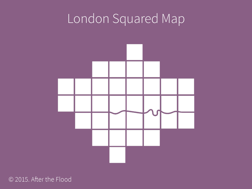 London Squared Map © 2015. After the Flood