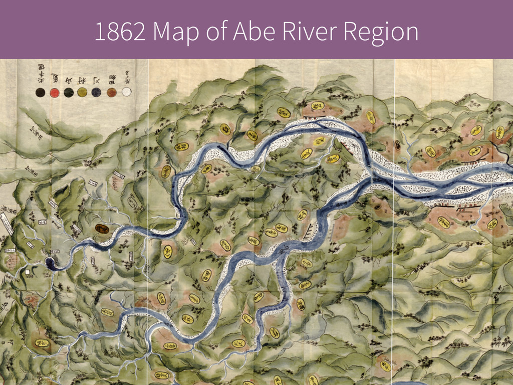 1862 Map of Abe River Region