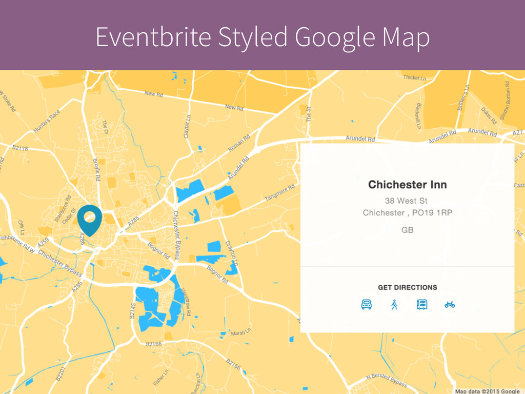 Eventbrite Styled Google Map