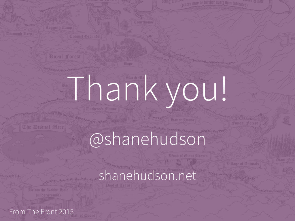 @shanehudson From The Front 2015 Thank you! sha...