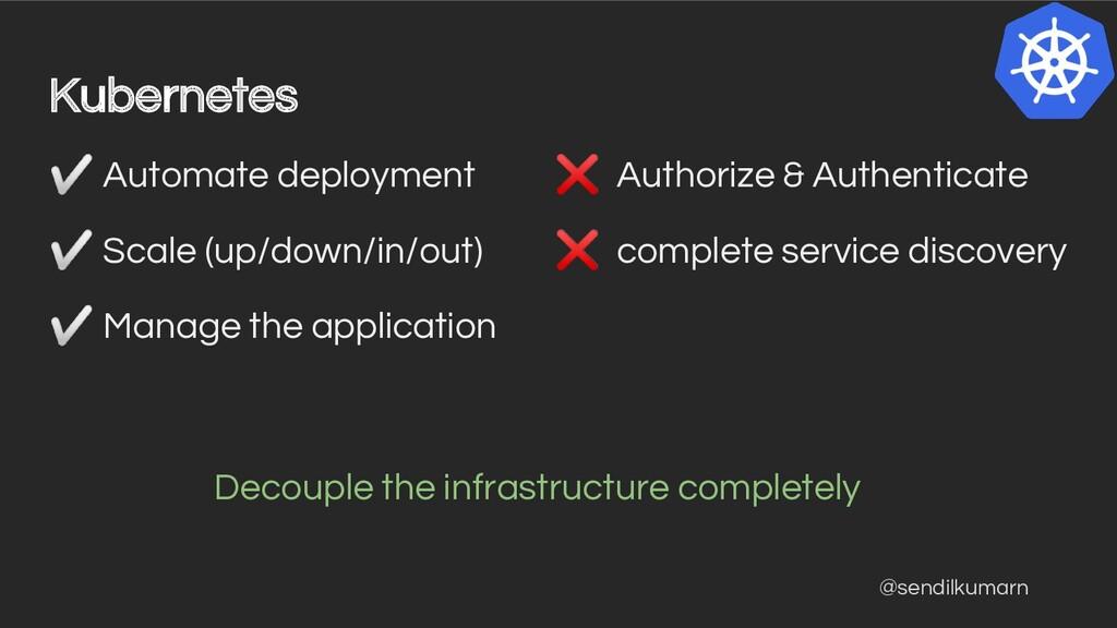 @sendilkumarn Kubernetes ✅ Automate deployment ...