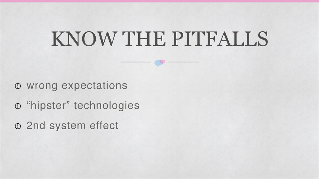 """KNOW THE PITFALLS wrong expectations! """"hipster""""..."""