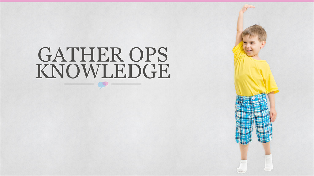GATHER OPS KNOWLEDGE