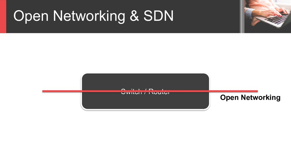 Open Networking & SDN Switch / Router Open Netw...