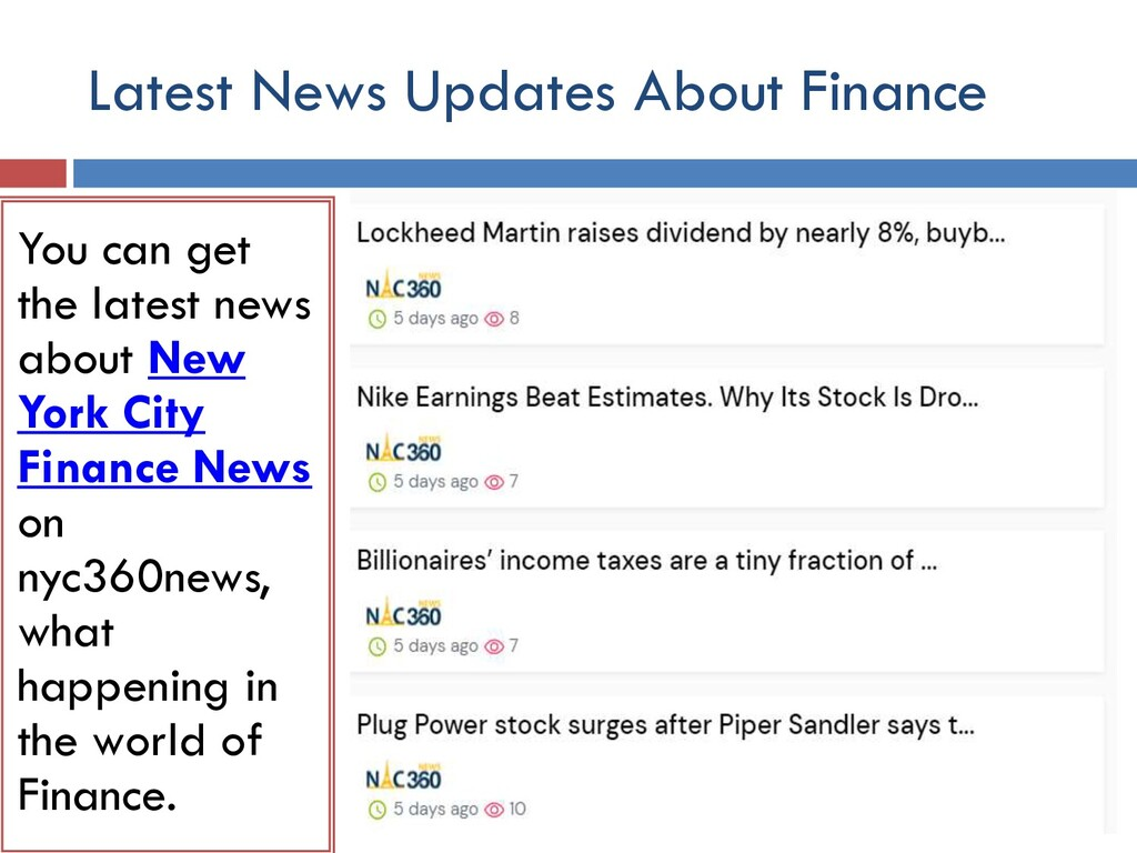 Latest News Updates About Finance You can get t...