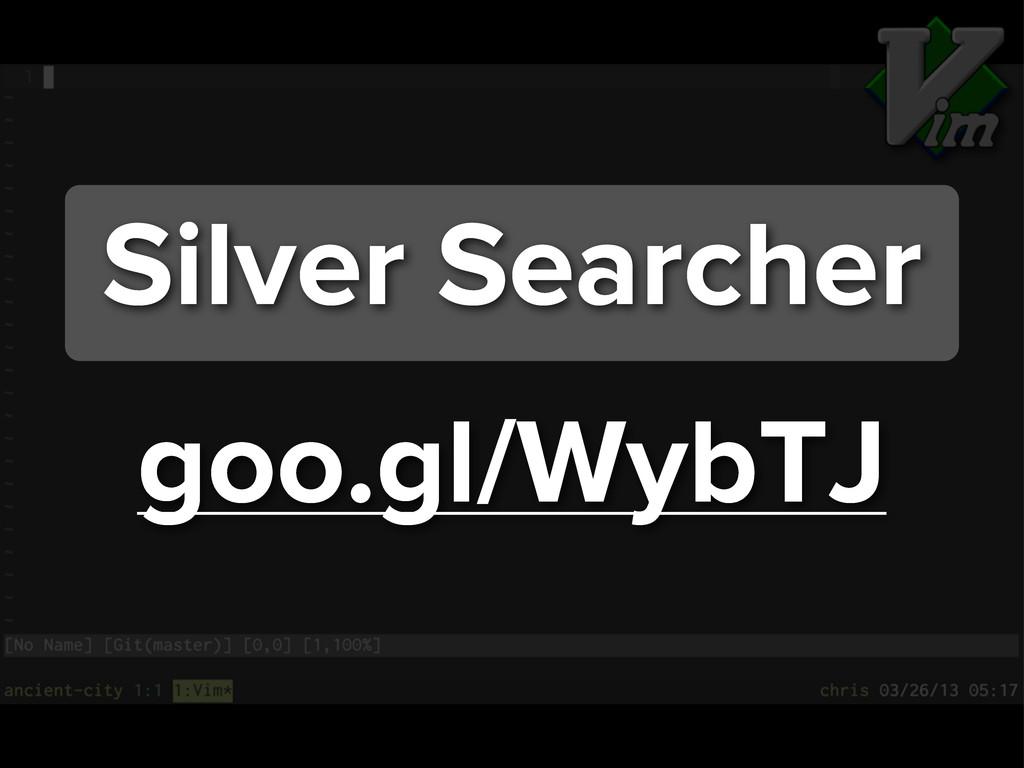 goo.gl/WybTJ Silver Searcher