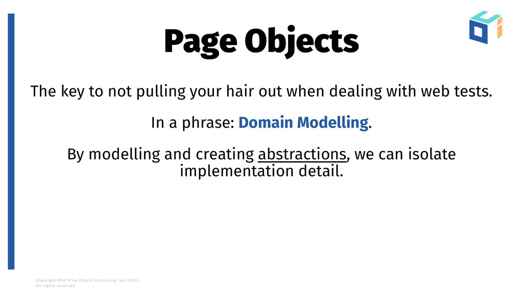 Page Objects The key to not pulling your hair o...