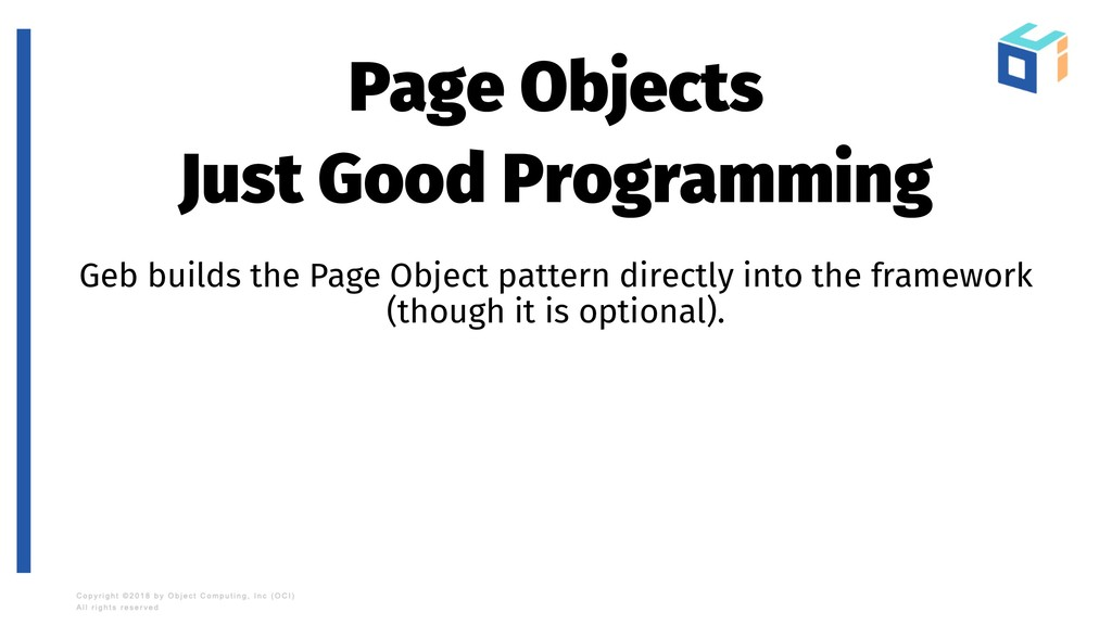 Page Objects Just Good Programming Geb builds t...