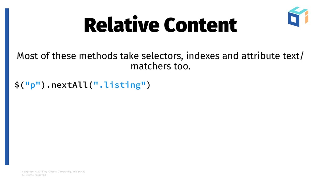 Relative Content Most of these methods take sel...