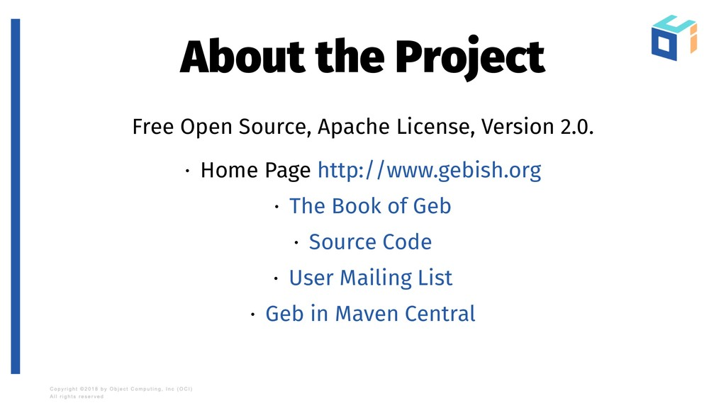 About the Project Free Open Source, Apache Lice...
