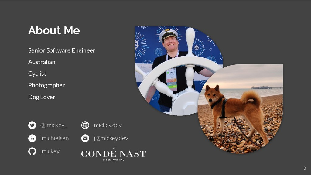 About Me Senior Software Engineer Australian Cy...