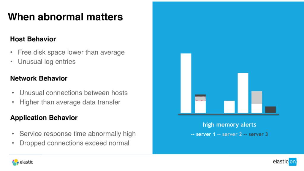 high memory alerts -- server 1 -- server 2 -- s...