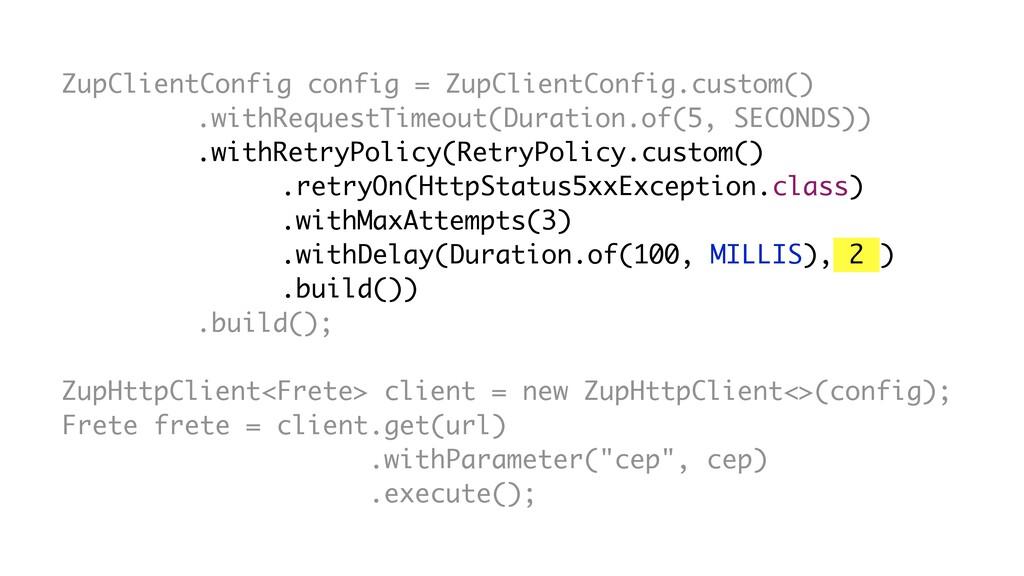 RetryPolicy.custom() .retryOn(HttpStatus5xxExce...