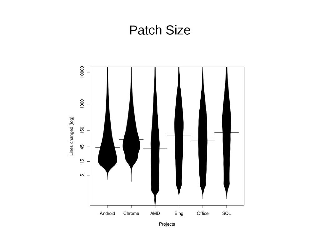 Patch Size