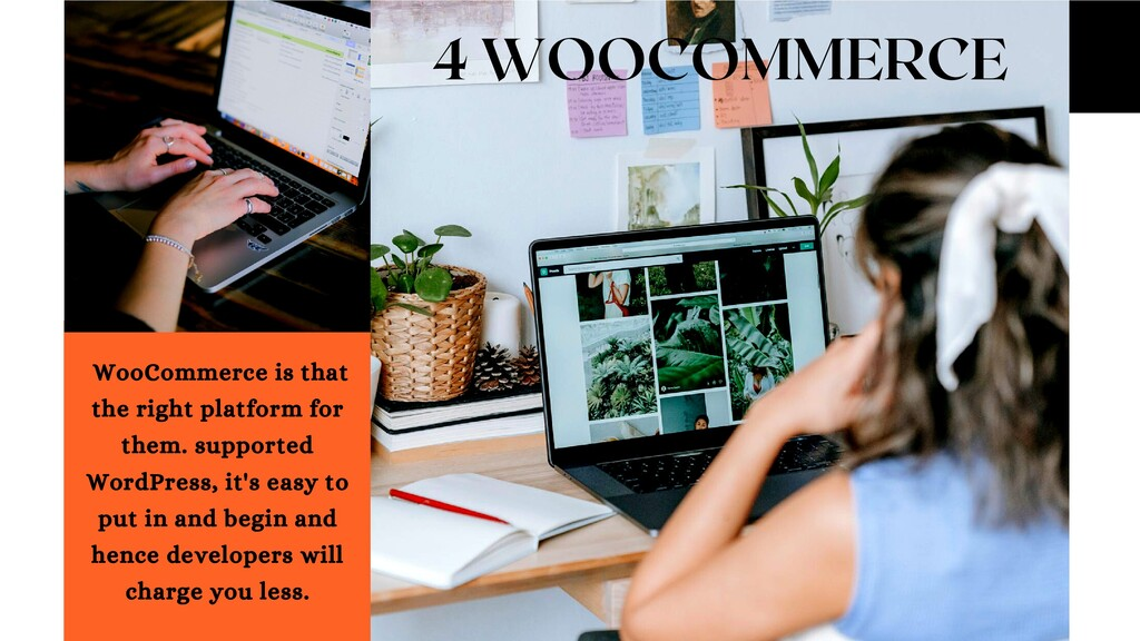4 WOOCOMMERCE WooCommerce is that the right pla...