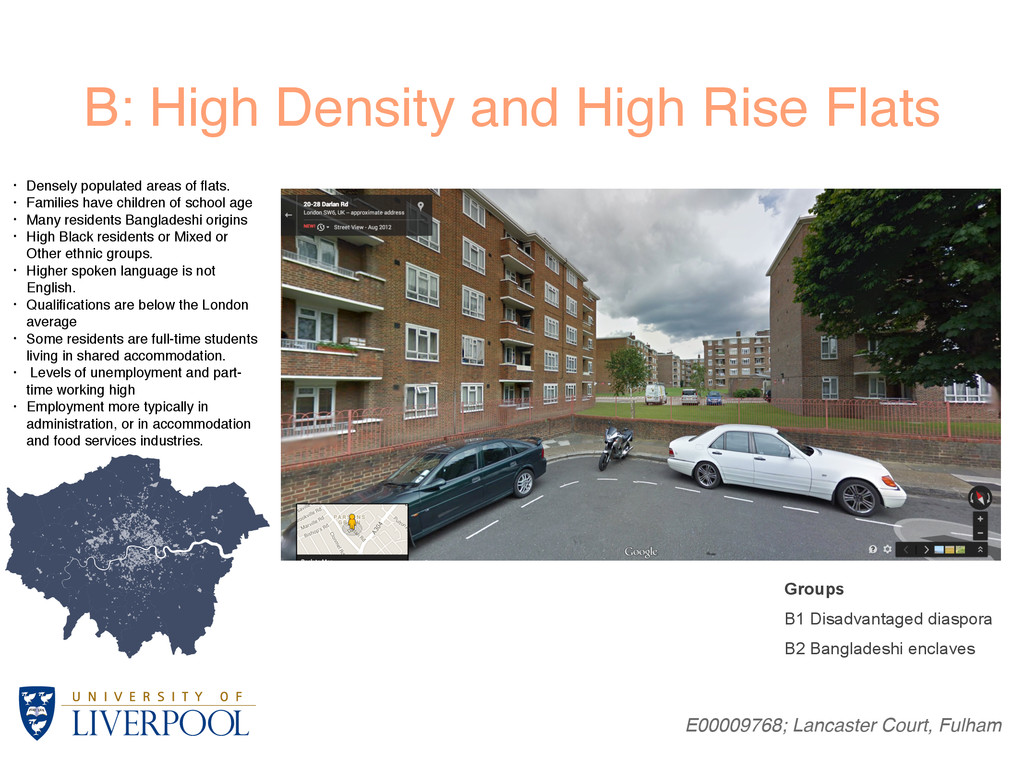 B: High Density and High Rise Flats E00009768; ...