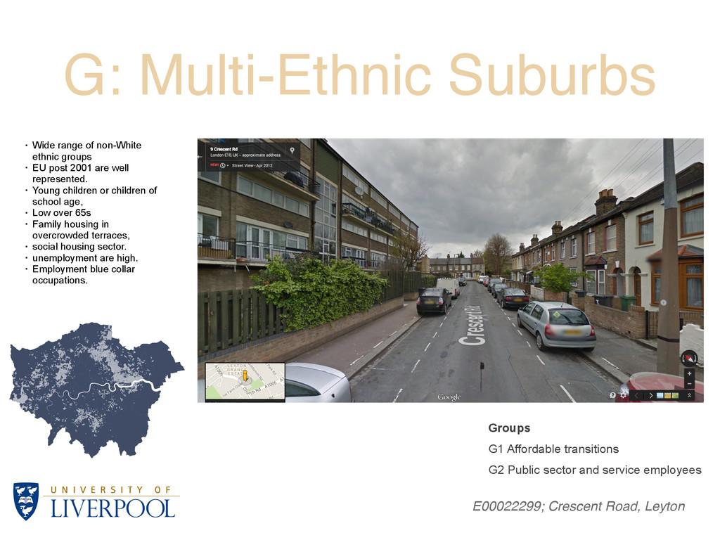 G: Multi-Ethnic Suburbs E00022299; Crescent Roa...