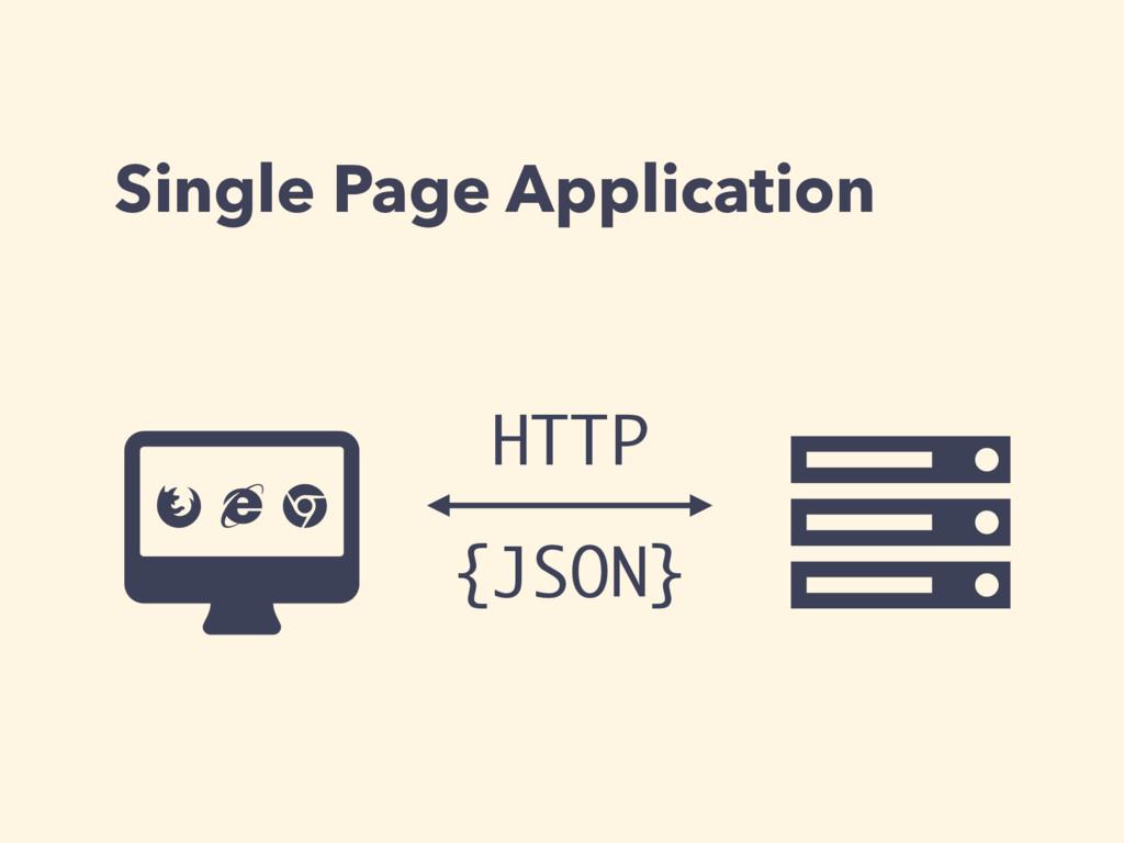 Single Page Application Ƀ Ȑ {JSON} ɂ Ʌ HTTP