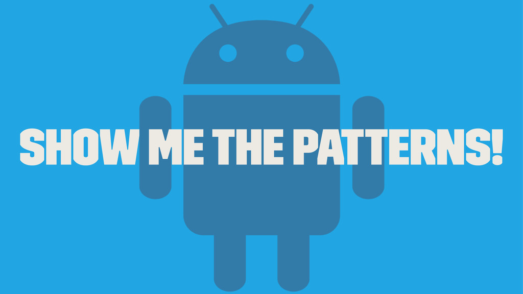 Show me the patterns!