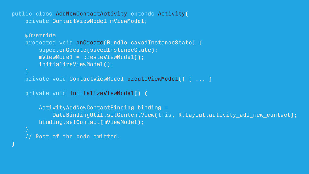 public class AddNewContactActivity extends Acti...