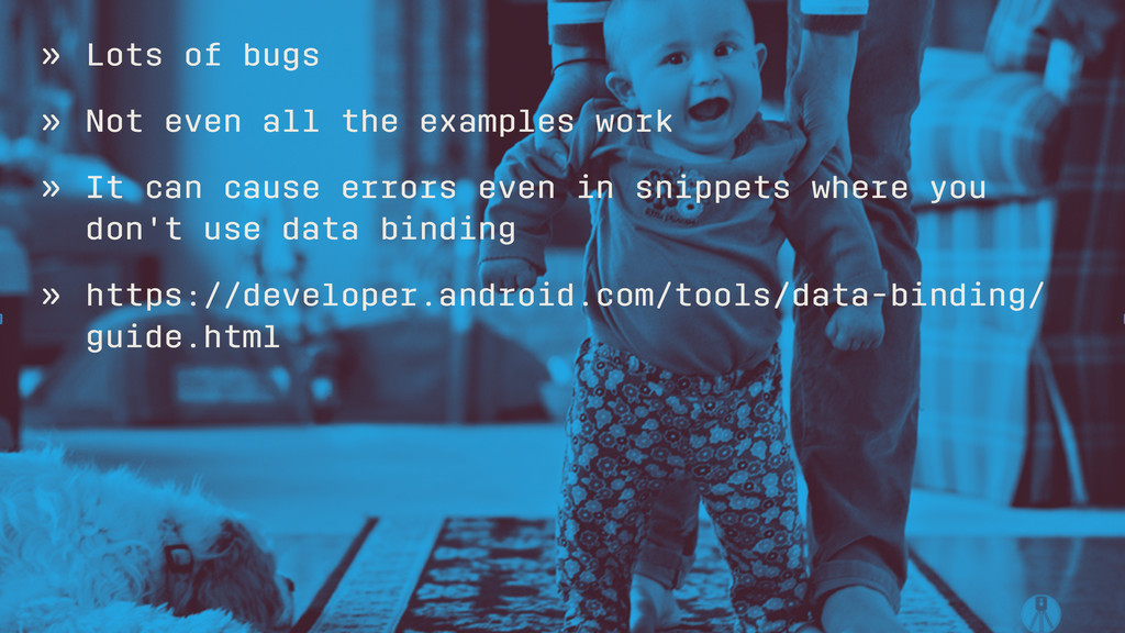 » Lots of bugs » Not even all the examples work...