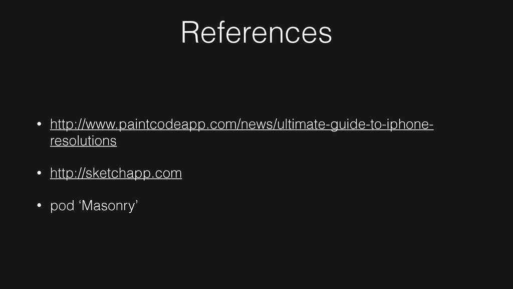 References • http://www.paintcodeapp.com/news/u...