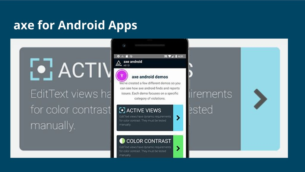 axe for Android Apps