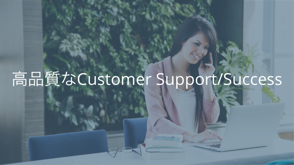 ߴ࣭ͳCustomer Support/Success