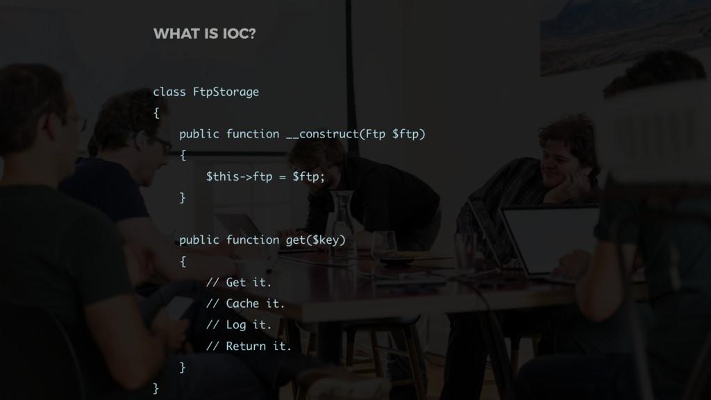 class FtpStorage { public function __construct(...