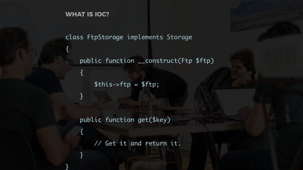 class FtpStorage implements Storage { public fu...