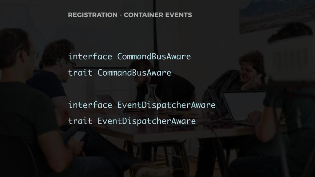 interface CommandBusAware trait CommandBusAware...