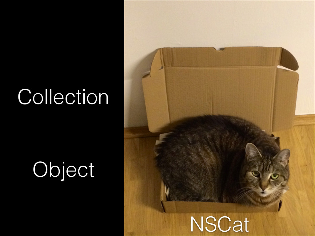 Object Collection NSCat