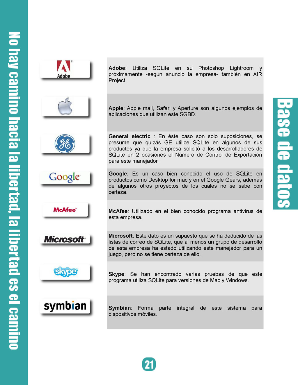 Adobe: Utiliza SQLite en su Photoshop Lightroom...