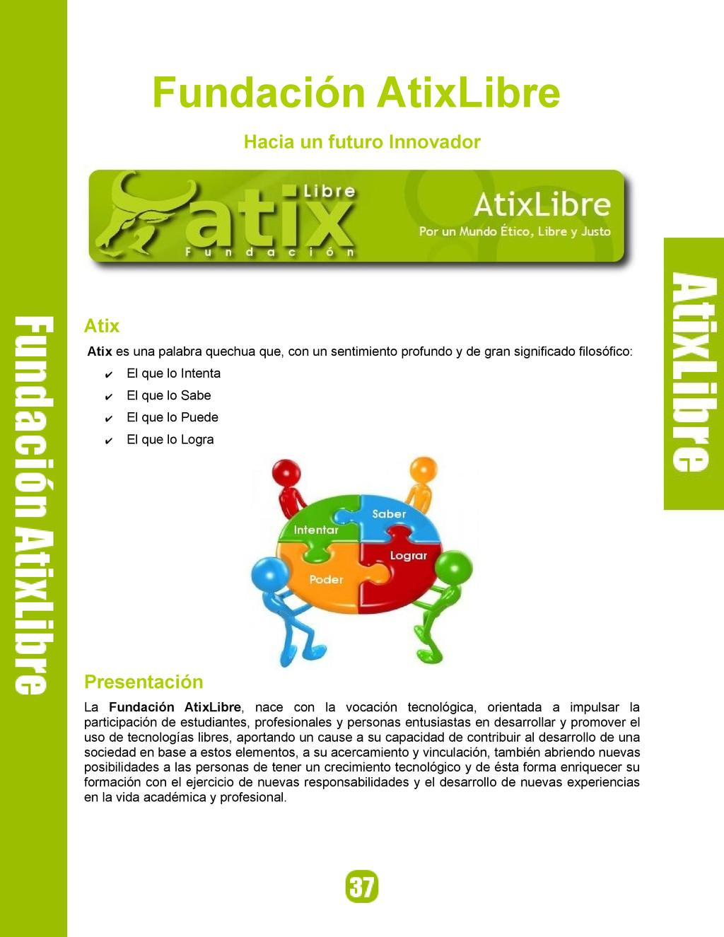 Fundación AtixLibre Hacia un futuro Innovador A...