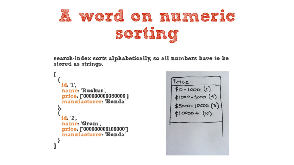 A word on numeric sorting search-index sorts al...
