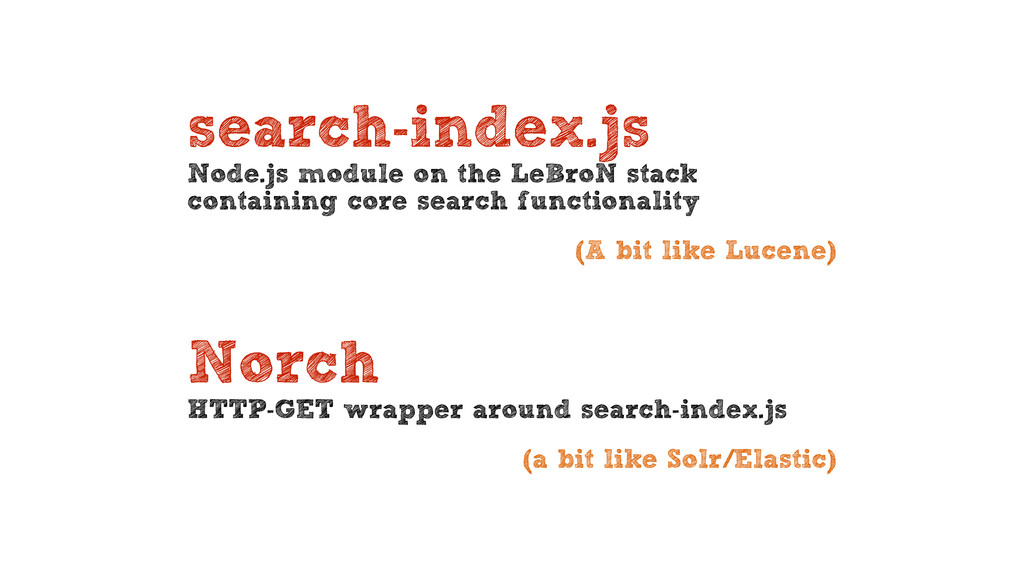 search-index.js Node.js module on the LeBroN s...