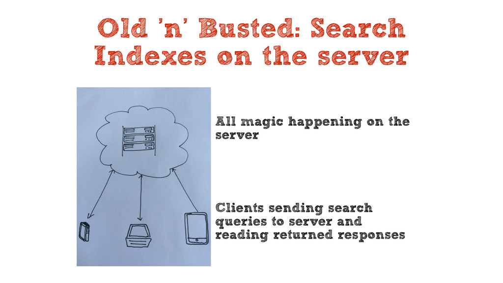 Old 'n' Busted: Search Indexes on the server Al...
